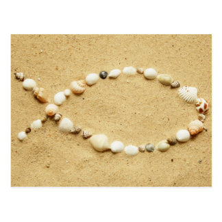 Seashell Ichthys Tarjetas Postales