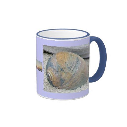 Seashell in Sunset Colors Mug