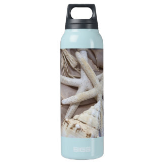 Seashell Insulated Water Bottle