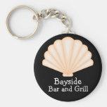 Seashell Keychain