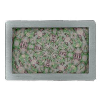 Seashell Kladescope Designed Themed Merchandise Rectangular Belt Buckles