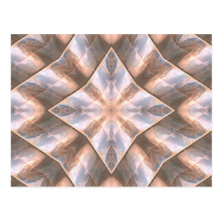 Seashell Layers Postcard