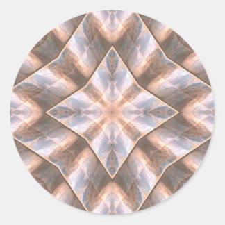 Seashell Layers Stickers
