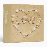 "Seashell Love 1.5"" Photo Album Binder"