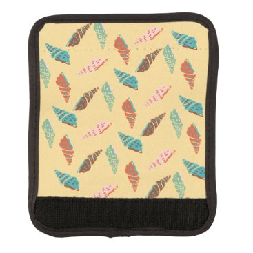 Beach Themed Seashell Luggage Handle Wrap