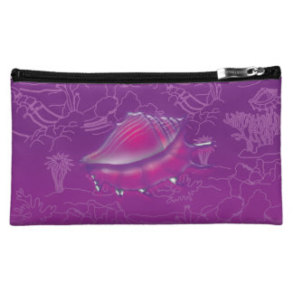 Seashell Makeup Bag