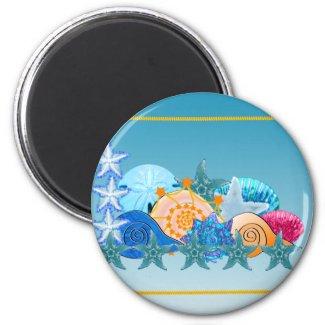 Seashell Medley magnet