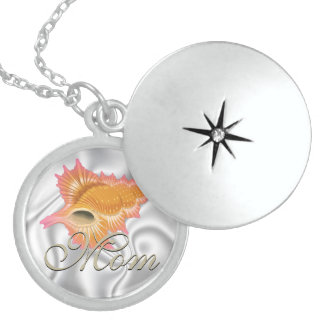 Seashell  Mother's Day  Memory Necklace