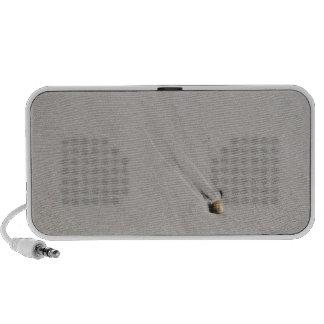 Seashell on a beach mini speakers