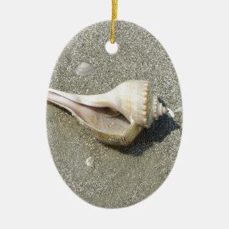 Seashell Christmas Ornament