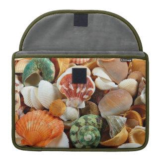 Seashell pattern macbook sleeve sleeves for MacBooks