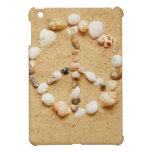 Seashell Peace Sign iPad Mini Cover