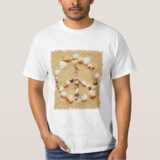 Seashell Peace Sign T-shirt