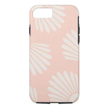 Beach Themed Seashell Peach iPhone 7 Case