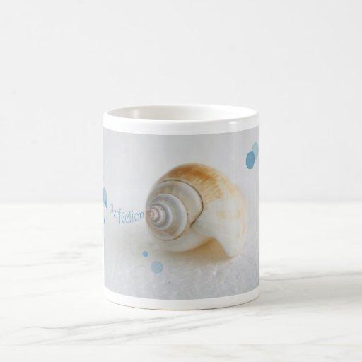 Seashell Perfection Classic White Coffee Mug