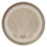 Seashell Plato De Cena