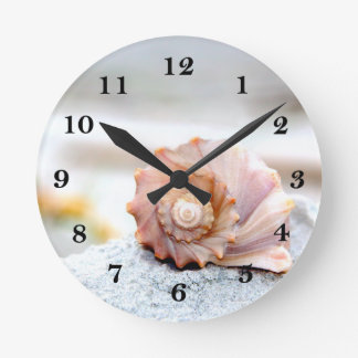 Seashell Reloj De Pared