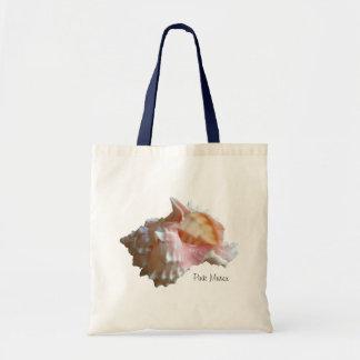 Seashell rosado del Murex Bolsa