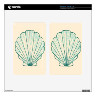 Seashell Skin For Kindle Fire