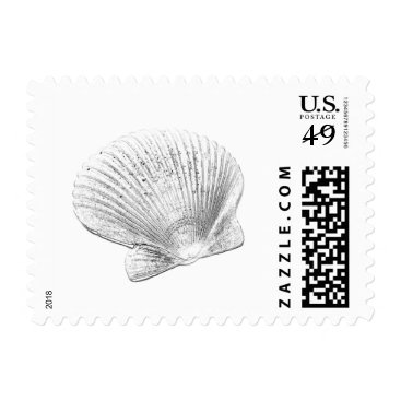 Beach Themed Seashell Stamps