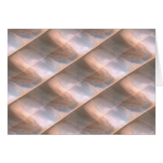 Seashell Stripes Card