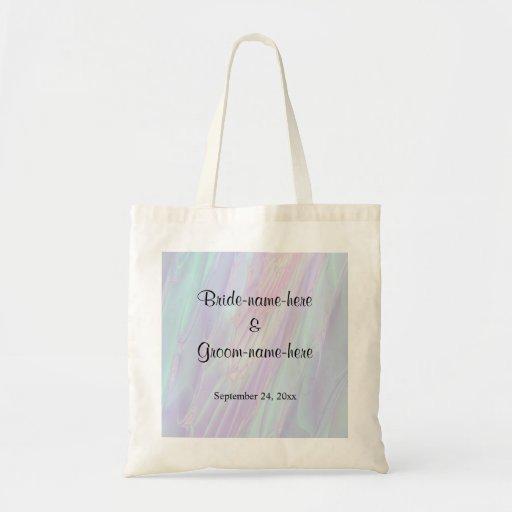 Seashell Style Pattern. Wedding. Tote Bag