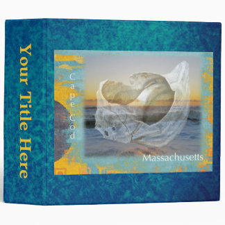 Seashell & Surf - Cape Cod Massachusetts Binder