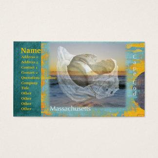 Seashell & Surf - Cape Cod Massachusetts Business Card