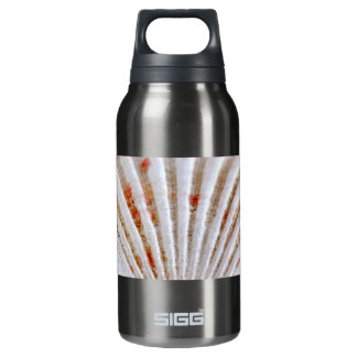 Seashell surface insulated water bottle