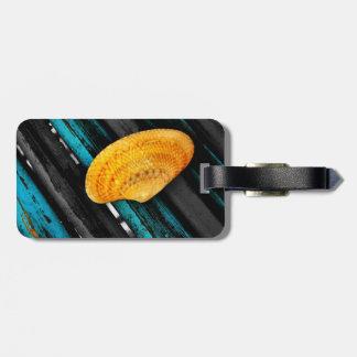 seashell tag for luggage
