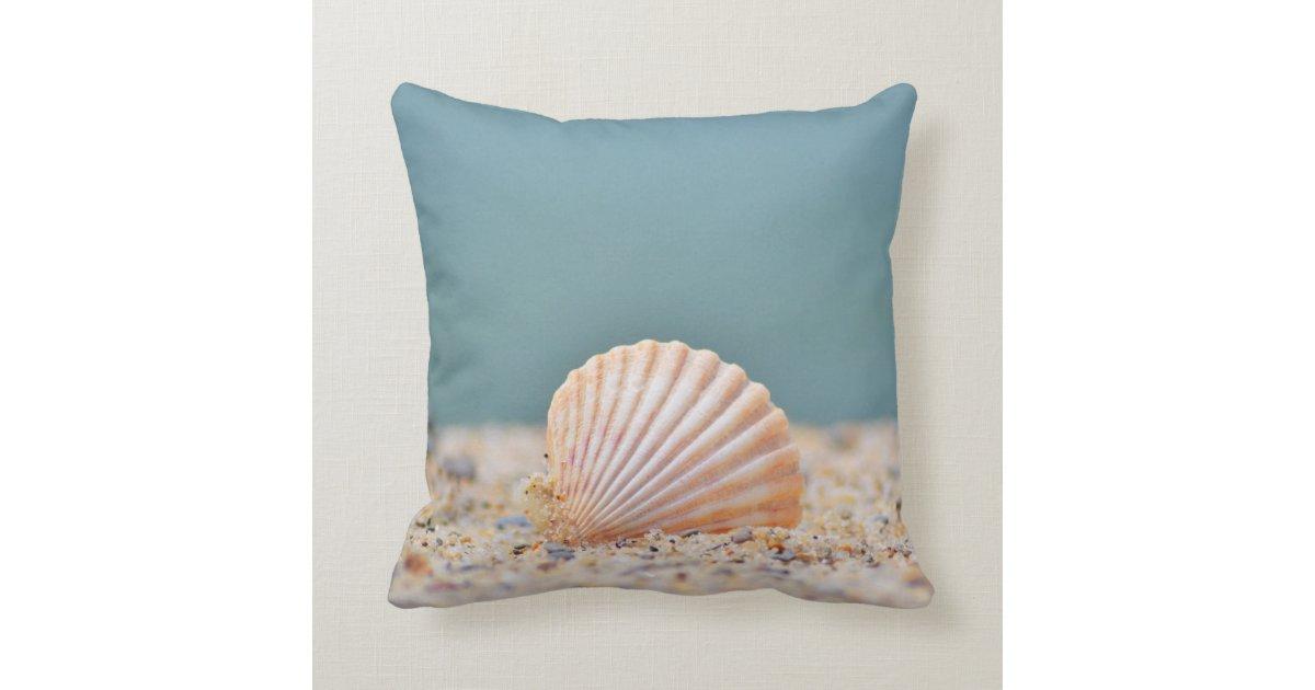 Seashell Throw Pillow Zazzle