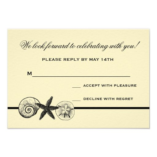 Rsvp reply cards car interior design for Does rsvp mean you have to reply
