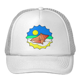 Seashell Trucker Hat