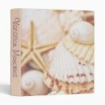 """Seashell Vacation Memories 1"""" Photo Album Binder"""