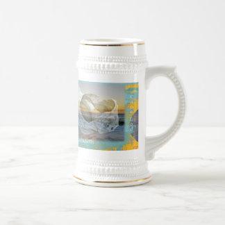 Seashell y resaca - Cape Cod Massachusetts Taza De Café