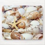 Seashells Alfombrillas De Ratón
