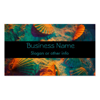Seashells and Sand Business Card