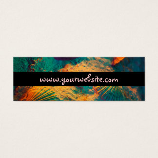 Seashells and Sand Mini Business Card