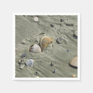 Seashells And Sand Napkin