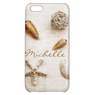 seashells and star fish iPhone 5C covers