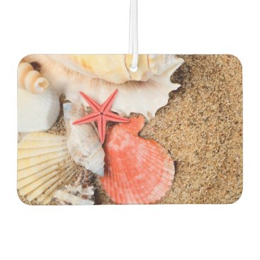 Beach Themed Seashells and Starfish Air Freshener
