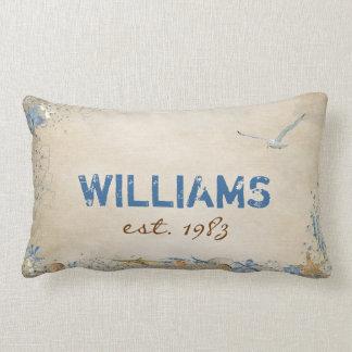 Seashells and Starfish Lumbar Pillow