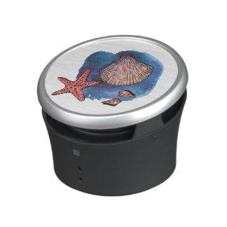 Seashells and starfish speaker