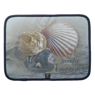 Seashells and Surf Folio Planner
