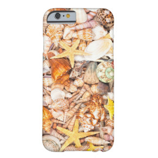 Seashells Background Barely There iPhone 6 Case
