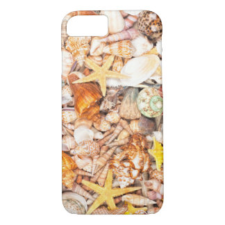Seashells Background iPhone 7 Case