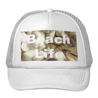 Seashells Beach Life Hat