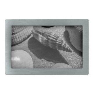 Seashells Rectangular Belt Buckles