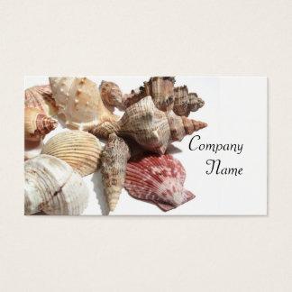 Seashells business cards
