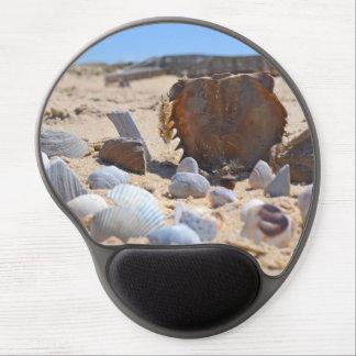 'Seashells By The Seashore' Gel Mouse Mat